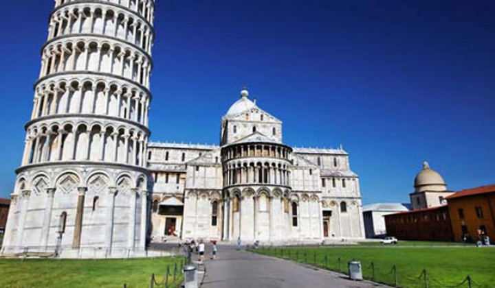 The history behind the Leaning Tower of Pisa