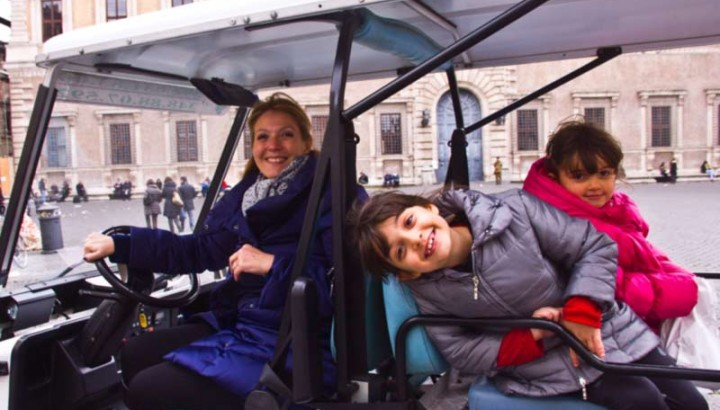 Rome for Kids with Golf Cart