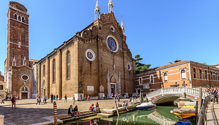 Tour of Venice Frari Church and School of St. Rocco