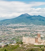 Pompeii and Vesuvius Volcano Shore Trip