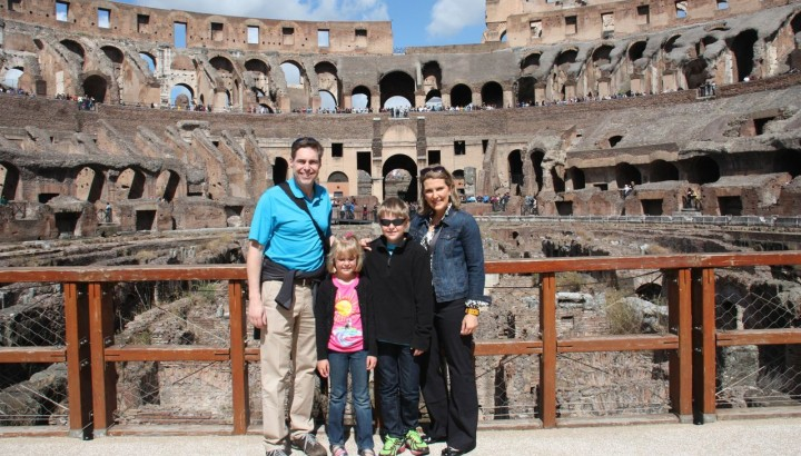 Colosseum for Kids with Ancient Rome