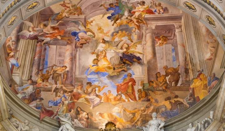 Are you looking for great ceilings in Rome? Here's our top 5
