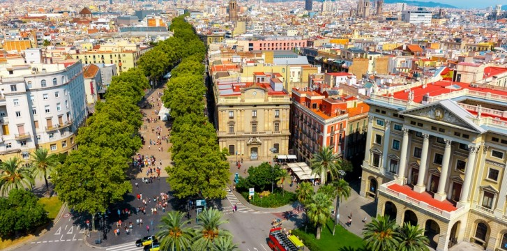 Saint George's Day in Barcelona