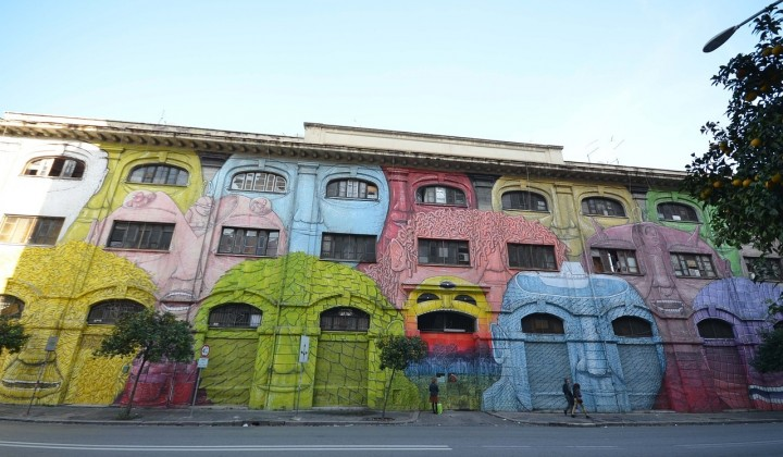 Street Art in Rome: Testaccio, Quadraro, San Lorenzo