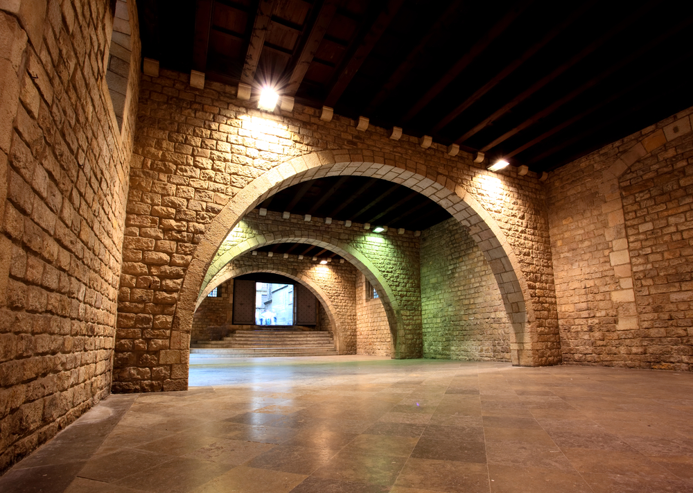 The Picasso Museum in old town Barcelona