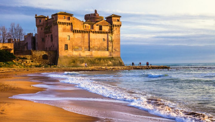 Santa Severa Castle half day trip for families