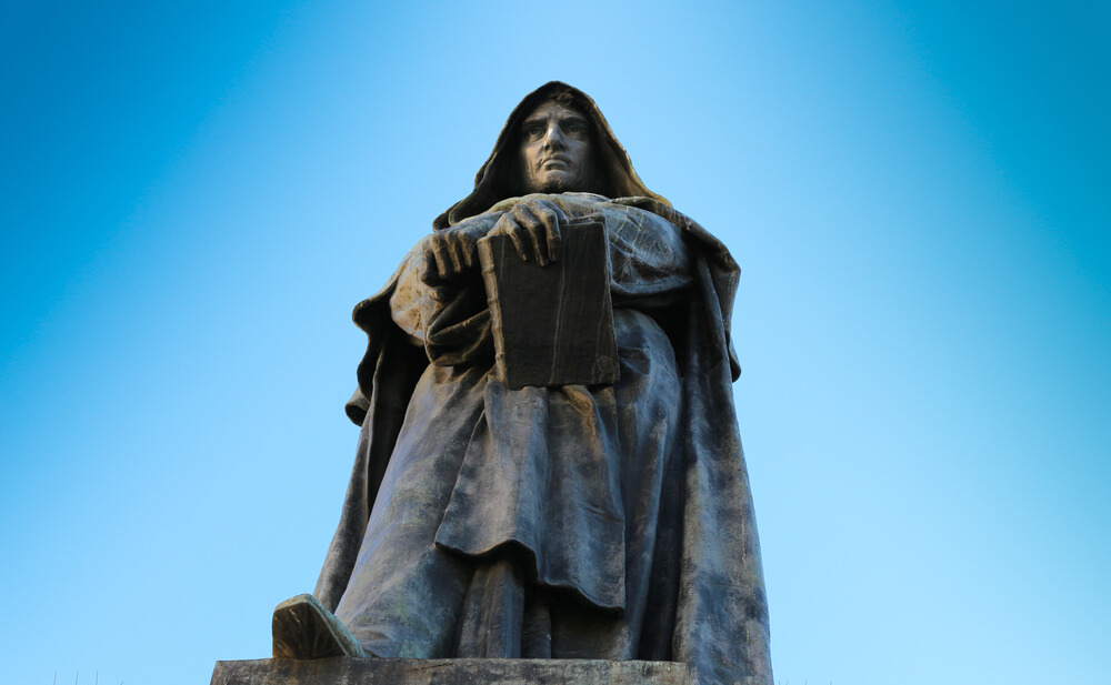 Giordano Bruno Statue Rome creepy Tour