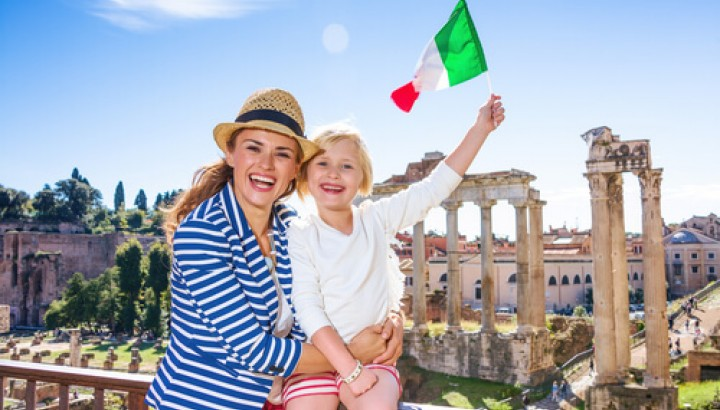 Driving Guided Tour of Rome for Kids