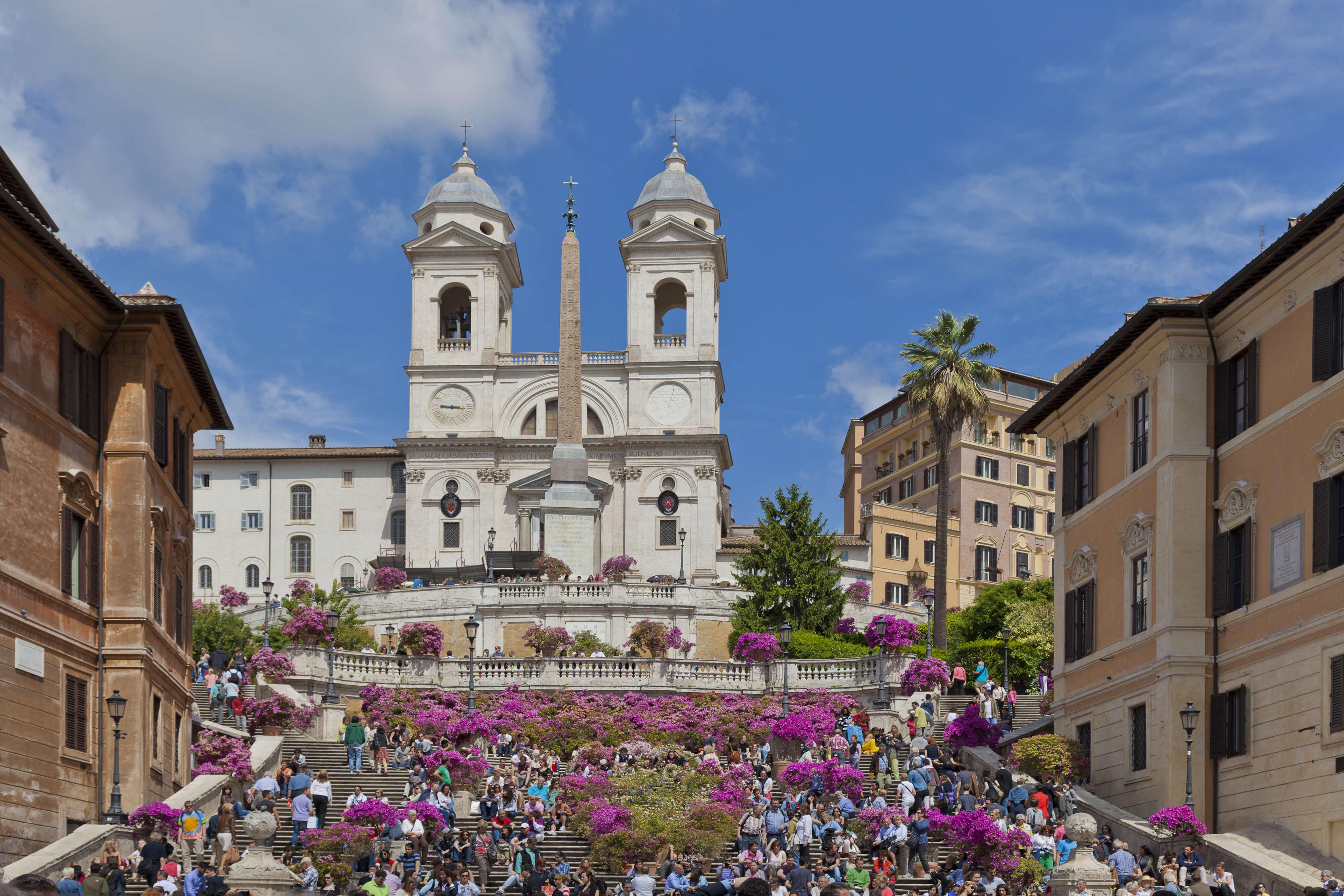 Piazza di Spagna in Rome