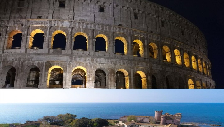 Colosseum Under the Moon and Santa Severa Castle Half Day Tour