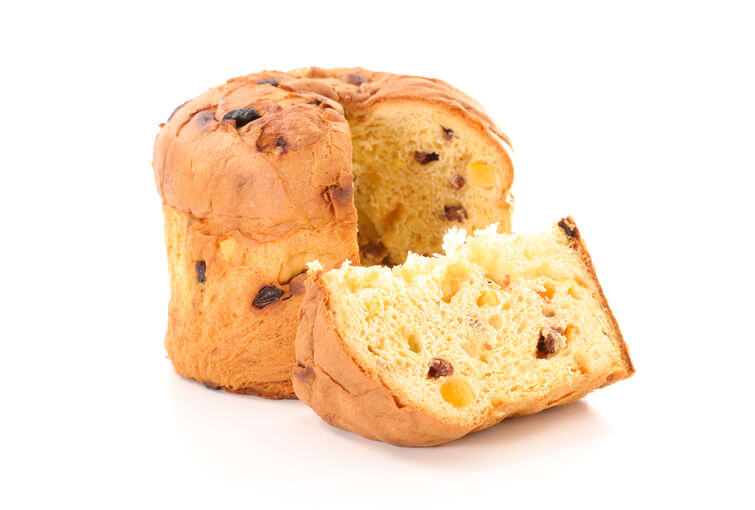 rome at christmas food panettone
