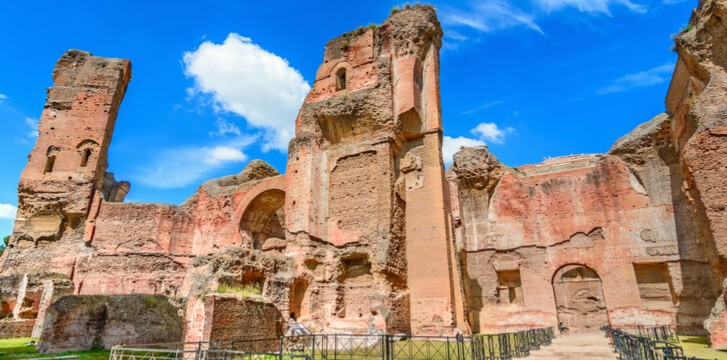 Rome Virtual Tour: a new way to visit Caracalla Baths