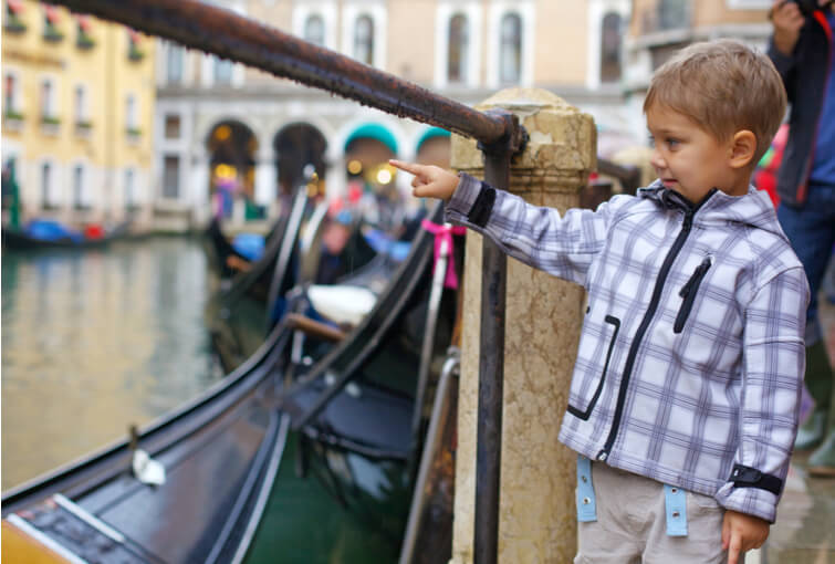 Children in Venice