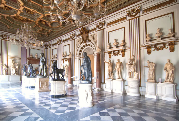 Inside one rooms capitoline museums rome