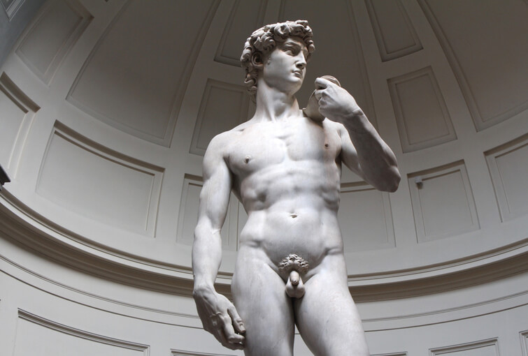 David By Michelangelo in Florence