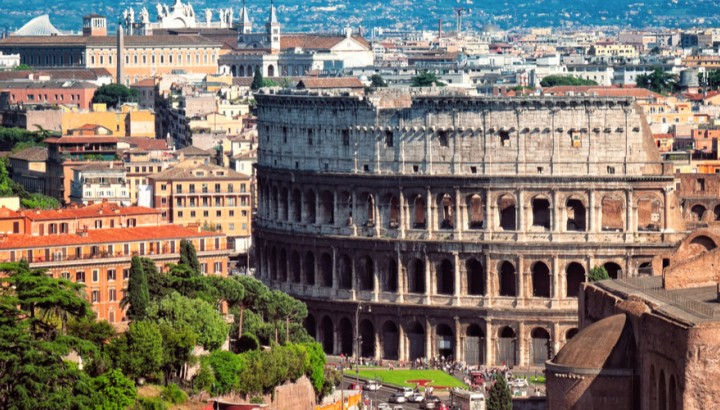 Combo Private Tour of Colosseum with arena entrance and Vatican