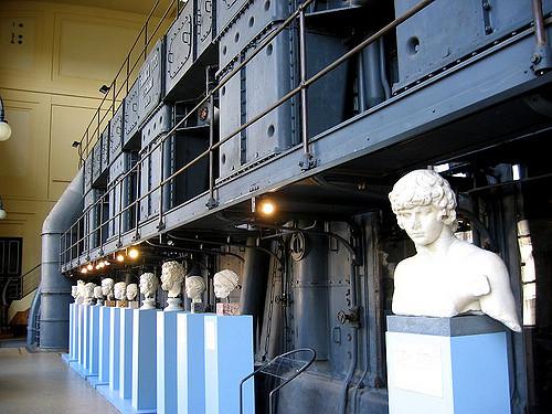 Statues of Centrale Montemartini in Rome