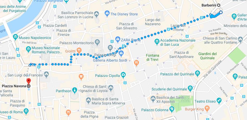 Guide to Rione Parione
