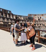 Colosseum Small Group Tour with Arena  fast track Entrance