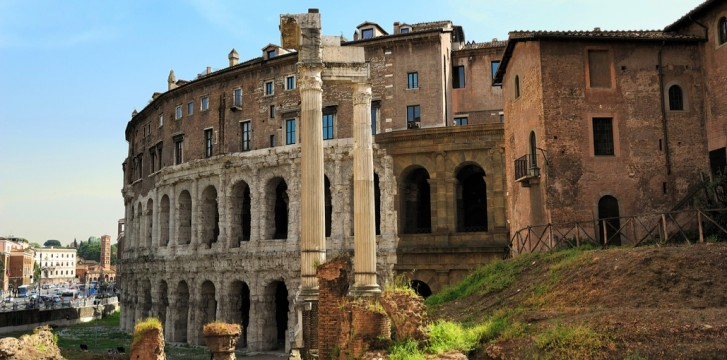 Visiting Sant'Angelo District in Rome