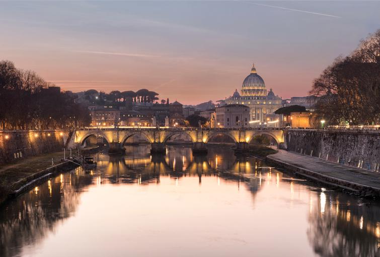 photo from umberto bridge rome