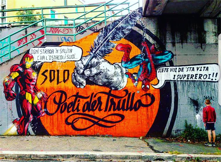 quartiere trullo street art