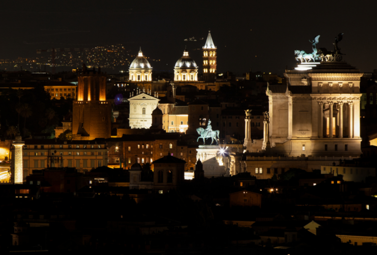 view from janiculum