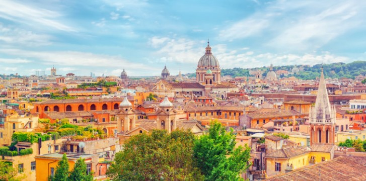 Best Rooftop bars and restaurants in Rome