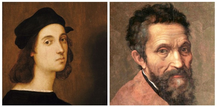 Michelangelo and Raphael's Rivalry