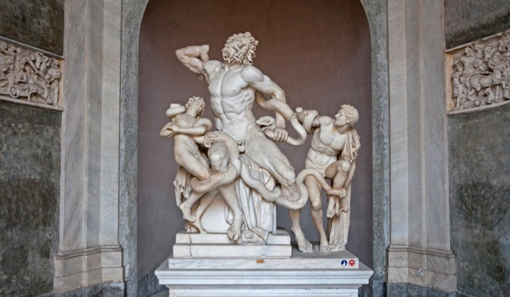 Laocoön and His Sons in Vatican Museums