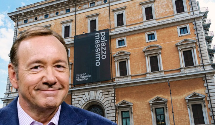 Kevin Spacey chooses Rome and Italian poetry to fightback