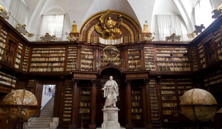 Casanatense Library in Rome
