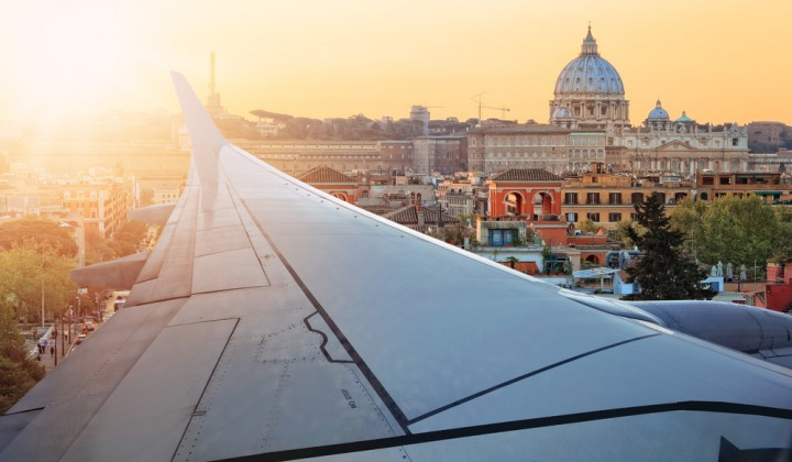 How do you get from Rome airports to the city center?