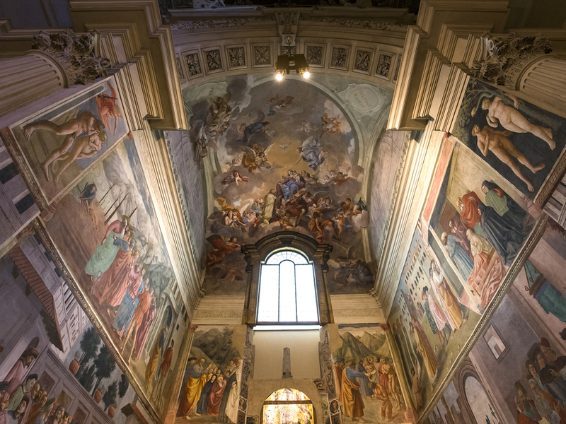 Brancacci Chapel in Florence