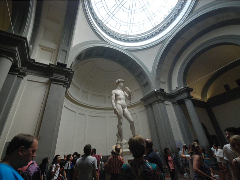 Michelangelo's David - Galleria dell'Accademia - Florence