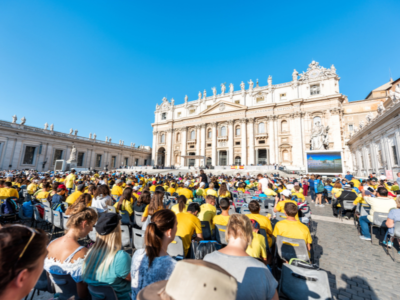 St. Peter's Square - Papal audience
