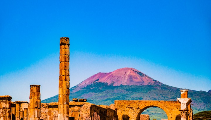 Day Trip to Herculaneum and Mount Vesuvius