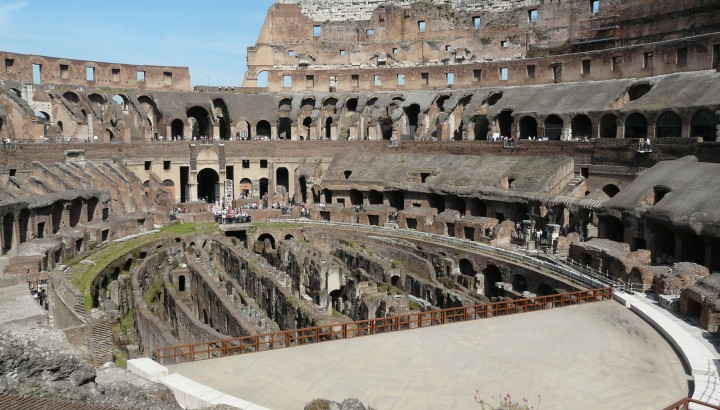 Colosseum With Arena and Ancient Rome Semi- Private Tours