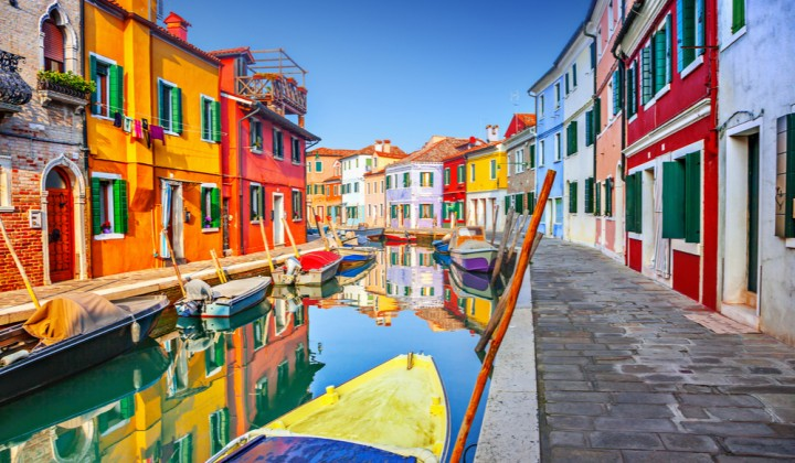 Discover Colorful Burano