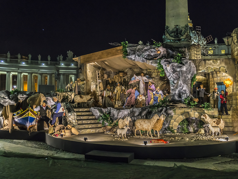 Nativity in St. Peter's Square, Vatican