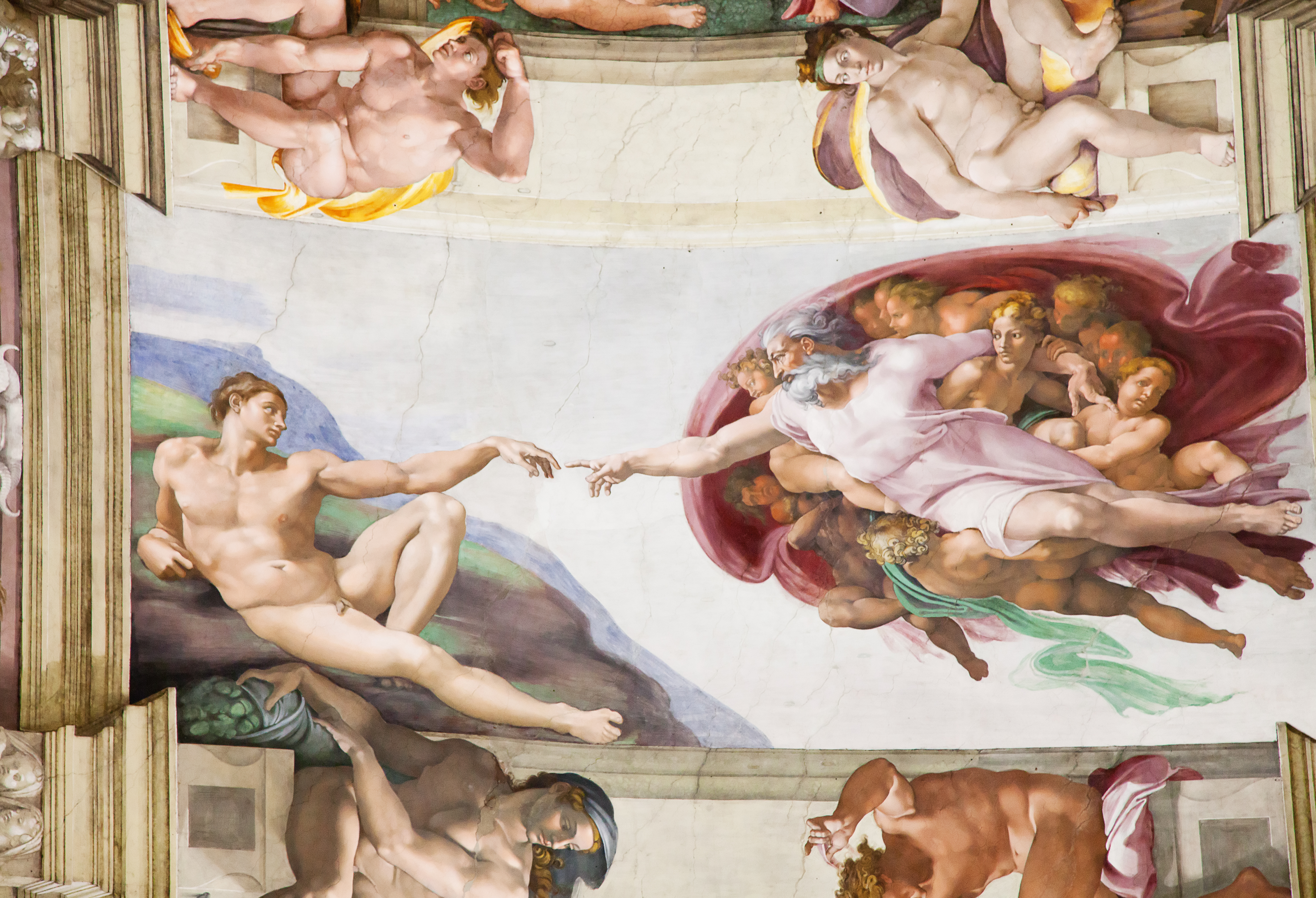 sistine chapel ceiling michelangelo vatican group experience