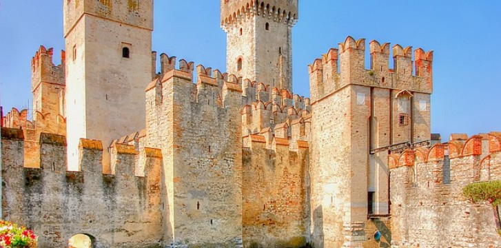 Scaligero Castle: one of the most well-preserved castles in Italy
